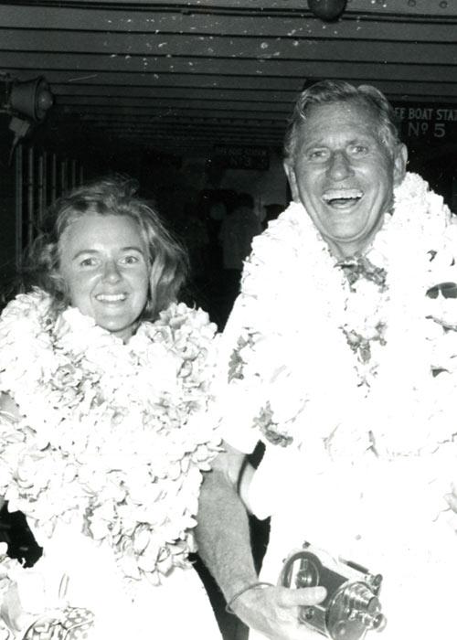 Patricia and Paul Bragg Hawaii Cruise